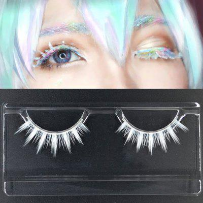Cosplay Halloween Dress Makeup Eyelashes One Pair