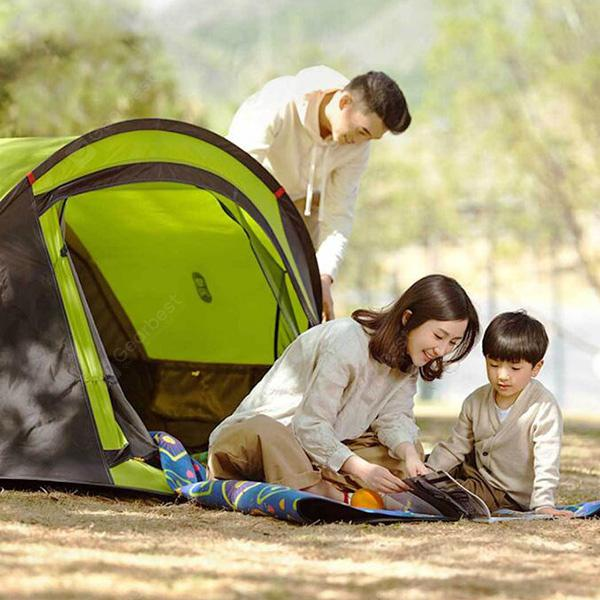 Zaofeng Double-layer Tent Durable Wigwam from Xiaomi Youpin- Green
