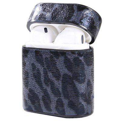 Naxtop Wireless Earphones Charging Box Cover Leopard Print Pattern Protective Case for AirPods 1 / 2