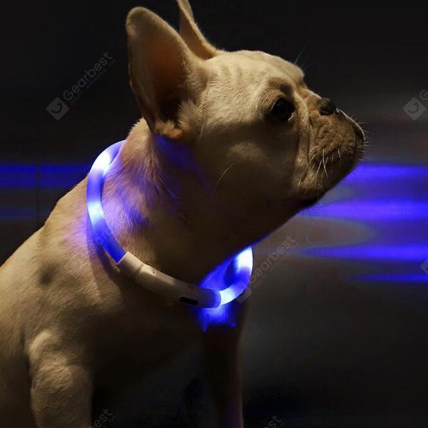 XL81 - 5001 USB Charging Waterproof Lighting Pet Collar from Xiaomi youpin
