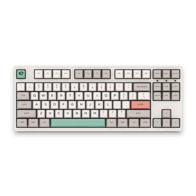 Akko 3087 - 9009 Retro 87 Keys Cherry Switch Wired Mechanical Keyboard PBT Keycap / All Key Anti-Ghosting