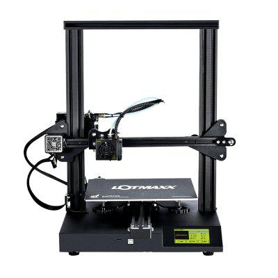 LOTMAXX SC - 10 3.5 inch 3D Printer High Precision Touch Screen