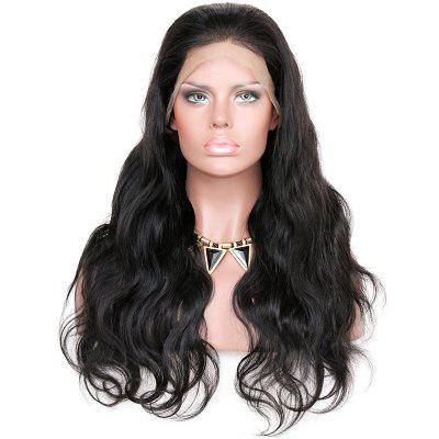 KUN Braziliaanse Virgin Hair 360 graden Lace Wig 150 procent Dik Density