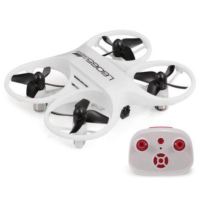 L6065 Mini RC Quadcopter Infrared Controlled Drone 2.4GHz Aircraft met LED-licht 6-assige System 4-kanaals