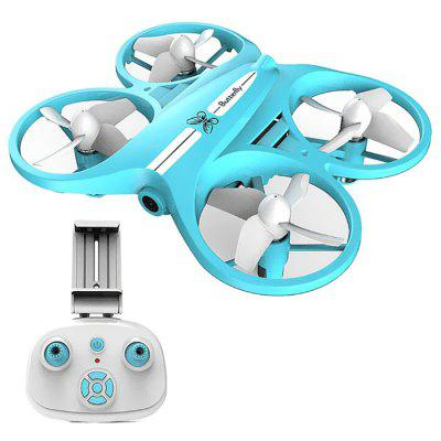LED Işık ile L6069 Mini RC Drone Uçak 2.4GHz 720P HD Kamera