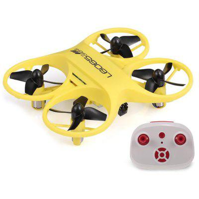 L6065 Mini RC Quadcopter Infrared Controlled Drone 2.4GHz Aircraft with LED Light 6-axis System 4 Channel