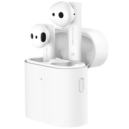 Gearbest Xiaomi TWSEJ02JY Air 2 Bluetooth 5.0 Binaural Earphones Smart Voice Prompt / True Wireless / Dual ENC Noise Reduction Mic / LHDC Decoding HD Sound - White Composite Diaphragm Dynamic Unit Earbuds