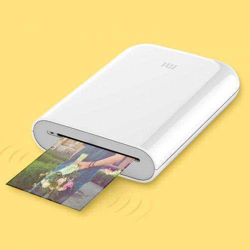63.99 - Xiaomi Pocket Photo Printer / AR Technology / Multiple Connection / Voice Photo - White