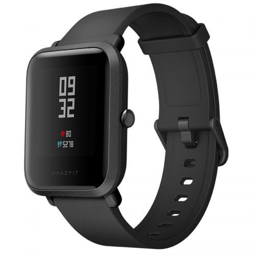 AMAZFIT A1608 Bip Heart Rate Monitor Smart Watch Global Version ( Xiaomi Ecosystem Product ) - Black