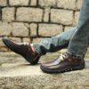AILADUN Men's Low-top Slip Resistant Casual Shoes Convenient Slip-on Shoes Big Size - DEEP BROWN