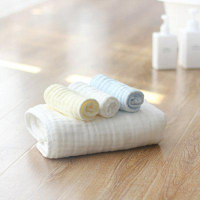 Z A - 1165 Baby Series Square Shape Cotton Gauze Soft Towel Water Absorption Class A 6PCS