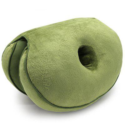 Latex Particles Multifunctional Plush Cushion Comfortable Waist Pillow Beautiful Buttock Mat for Student Office
