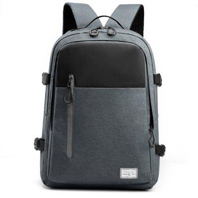 Fengchao0655 Men Comfortable Large-capacity Backpack Computer Bag Business