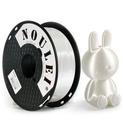 Noulei 3D-printer PLA filament zijde 1.75mm 1kg Spool maatvastheid +/- 0,02 mm voor Creality Ender-3 / Alfawise Anycubic / All FDM 3D-printer