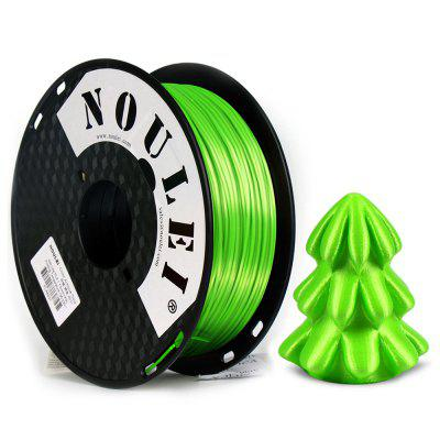 Noulei 3D Printer Filament Silk PLA 1.75mm for Creality Ender-3 Anycubic Alfawise All FDM 3D Printer