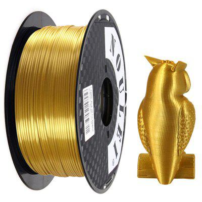 Noulei 3D Printer PLA Filament Silk 1.75mm 1kg Spool Dimensional Accuracy +/- 0.02mm for Creality Ender-3 / Alfawise Anycubic / All FDM 3D Printer