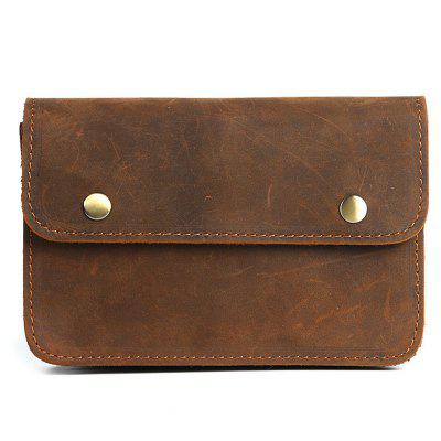 YAJIANME LS930 Men's Durable Genuine Leather Wallet Phone Pouch Portable Can Hang On Waistband