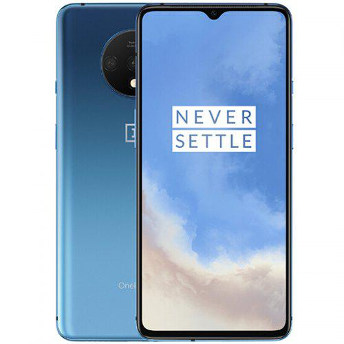 Gearbest Oneplus 7T 4G Phablet 6.55 inch Oxygen OS Based On Android 10 Snapdragon 855 Plus Octa Core 8GB RAM 128GB ROM 3800mAh Battery International Version - Blue 48.0MP + 12.0MP + 16.0MP Back Camera and 30W Warp Flash Charge