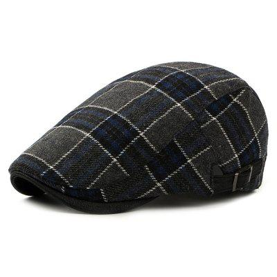 Men's Autumn Winter Thick Beret Keep Warm Casual Hat