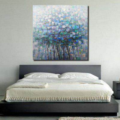 QINGYAZI HQ09007 Hand-painted Abstract Frameless Oil Painting Home Wall Art