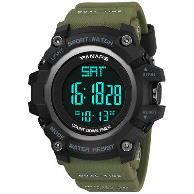 PANARS SB2019092632 Men Waterproof Dual Time Digital Watch Fashion Outdoor Sports Watches