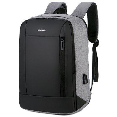 Travel Bag comercial masculino Computer Backpack Grande Capacidade