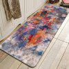 Abstract Ink Pattern Cashmere-like Water Absorption Non-slip Carpet Mat - MULTI