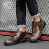 AILADUN Men Mid-high England Casual Shoes Durable Full Grain Leather Upper - BRONZE