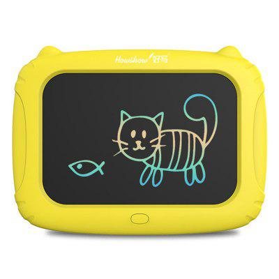 Cartoon Cat Shape Writing Tablet LCD Board Small Blackboard for Kids
