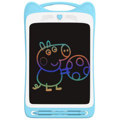 Children Writing Tablet Definition Film Cute Big Face Cat Shape