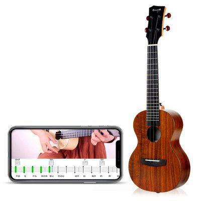 gearbest.com - ENYAMUSIC U1K APP LED Bluetooth USB Smart 23 inch Ukulele Full Board