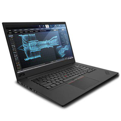 Lenovo ThinkPad P1 Station de travail mobile portable 15,6 pouces à écran tactile Intel Core CPU i7-8750H 8 Go DDR4 RAM SSD 256 Go Business Laptop mondial Version