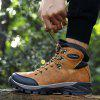 TANTU Men's Outdoor High-top Hiking Boots Keep Warm Autumn Winter Casual Shoes - BROWN
