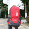 Heren Outdoor Casual Backpack grote capaciteit Mountaineering Bags Travel Pack - VALENTINE RED