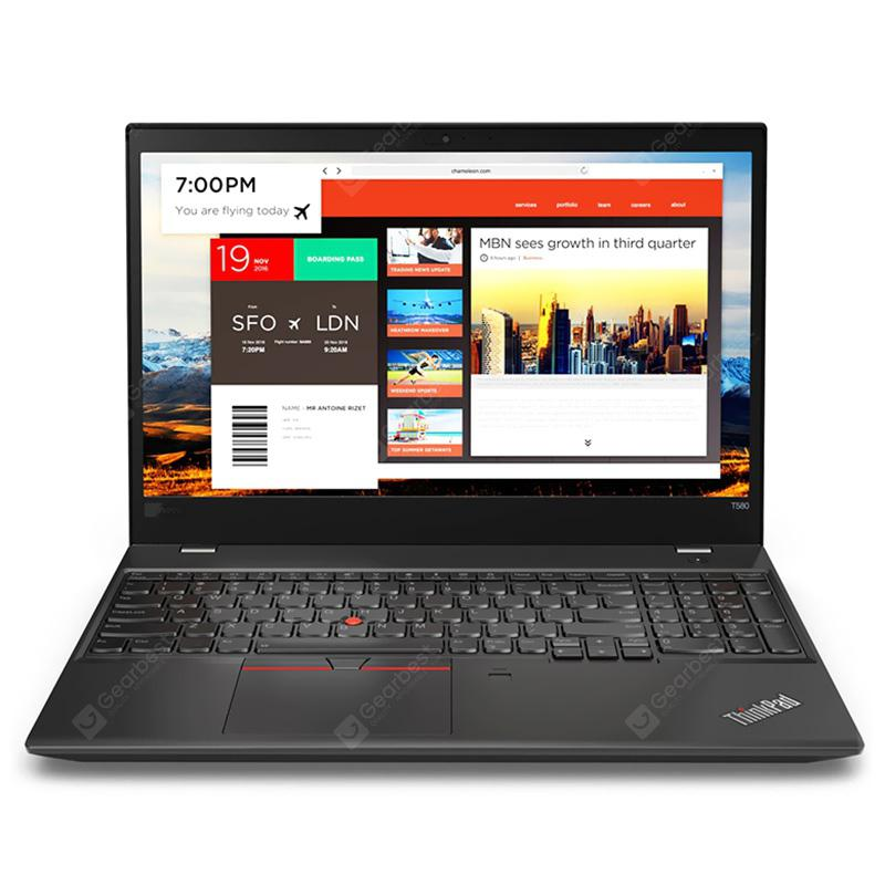 Lenovo ThinkPad T580 Мобилна работна станция Ноутбук 15.6 инчов Intel Core i5-7200U CPU UHD Графика 620 8GB DDR4 RAM 512GB SSD Business Laptop Глобална версия