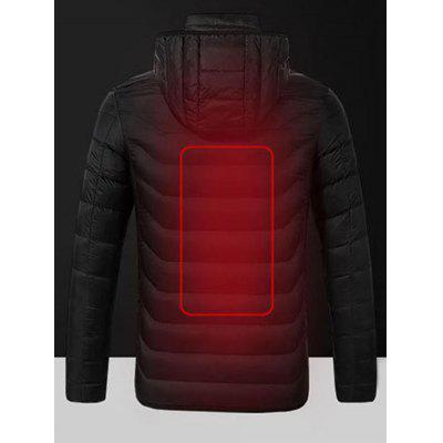 Men's Thin Cotton Smart Winter Coat Simple Fever