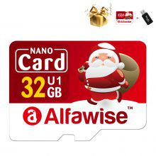Gearbest Alfawise Christmas Fun Edition Micro SD TF Card 3 In 1 32GB High Speed Memory Card Pack
