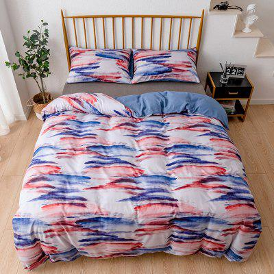 European Style Ink Painting Graffiti Bedding Set