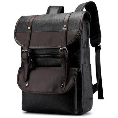Men's Korean Retro Backpack Trend Large-capacity Student Bags Travel