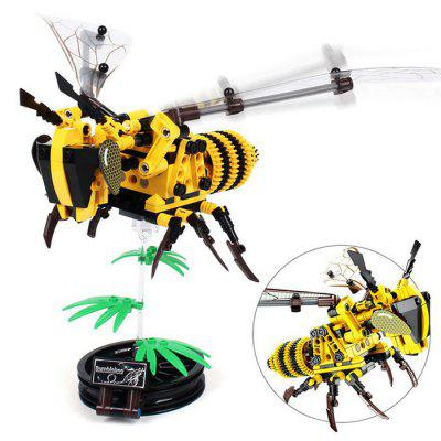 Puzzel DIY Kinderen Building Blocks Simulated Insect Hand