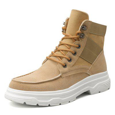 Mannen Trend High-top stikken Boots Simple Outdoor sportschoenen