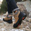 AILADUN Men Stitching Non-slip Sneaker Thick Bottom Durable Outdoor Sports Shoes - LIGHT BROWN