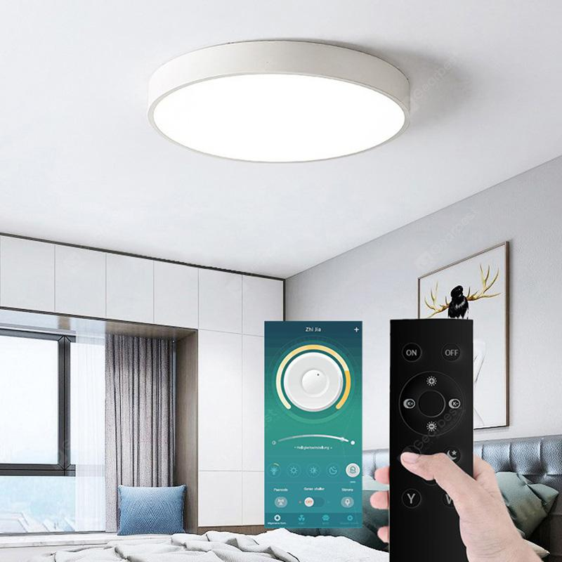 Utorch UT31 Smart LED Ceiling Light 36W AC 220V Bluetooth APP and Remote Control - White Stepless Dimming BT APP + Remote Control