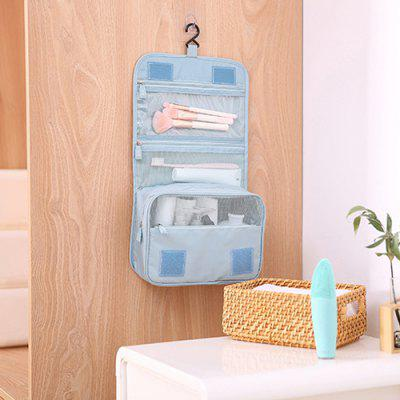 Male and Female Travel Waterproof Toiletry Bag Makeup Storage Hanging Bag