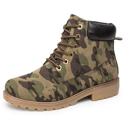 Men's Casual Non-slip Ankle Boots Durable Outdoor Tooling Shoes