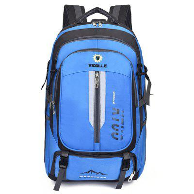 Men's Large Capacity 32L Camping Backpack Outdoor Travel Wearable Bags