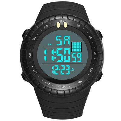 PANARS Men's Multifunction Swimming Waterproof Watch Week Date Display Electronic Wristwatch