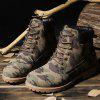 Men's Casual Non-slip Ankle Boots Durable Outdoor Tooling Shoes - CAMOUFLAGE GREEN