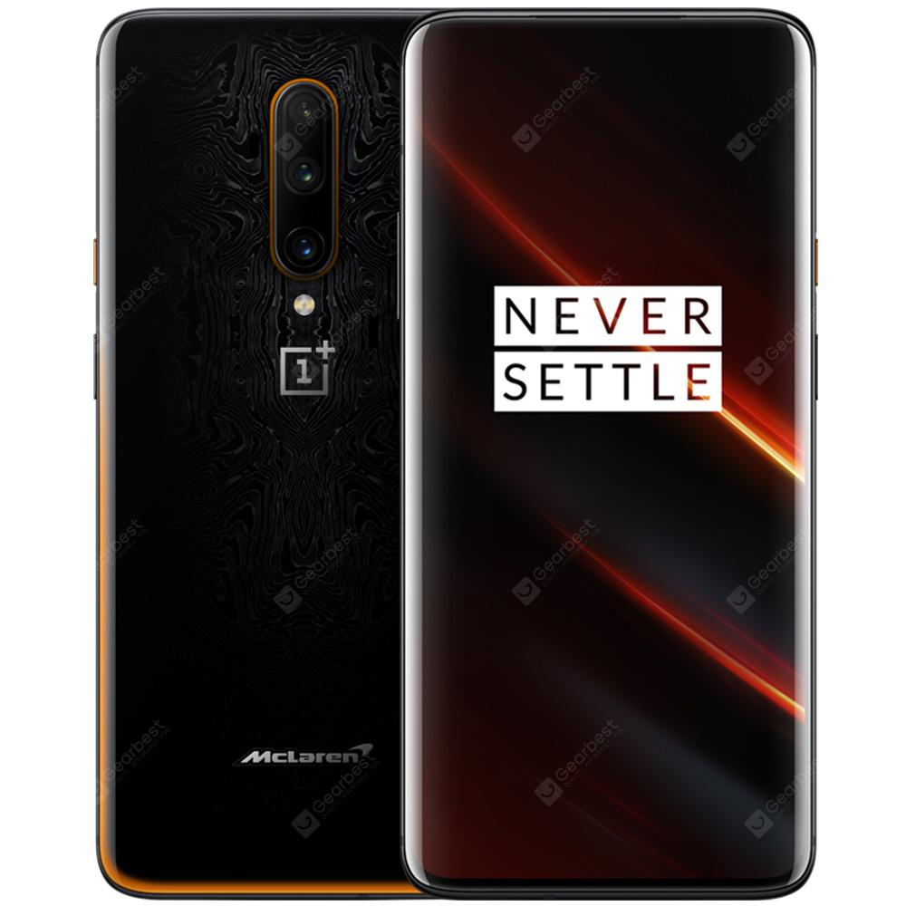 OnePlus 7T Pro McLaren Edition International Version 4G Phablet 6.67 inch Oxygen OS Snapdragon 855 Plus Octa Core 12GB RAM 256GB ROM 3 Rear Camera 4085mAh Battery - Orange