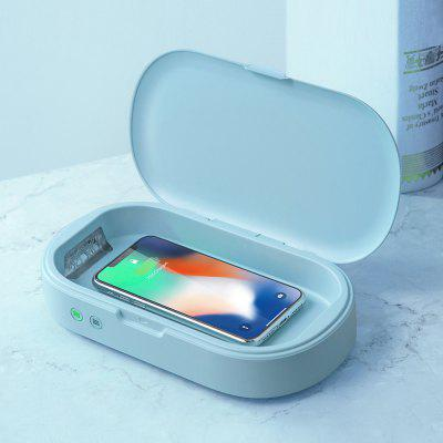gocomma UV Sterilization Fast Charging Wireless Charger Aromatherapy Diffuser 3 in 1 Multi-Functional Portable Disinfection Box